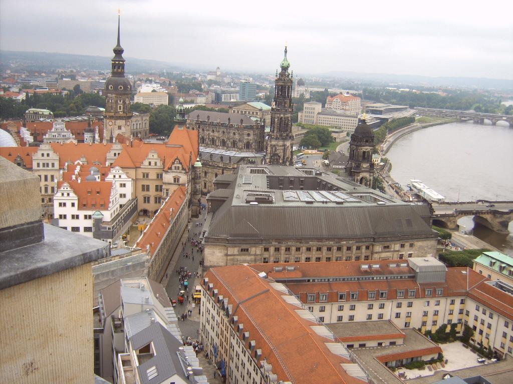 Dresden Blick auf das Schloss