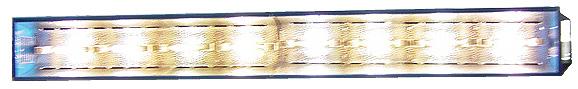 Cura della psoriasi, vitiligine, alopecia, piaghe da decubito ed altre malattie della pelle, acne, rachitismo, osteoporosi- narrow band - polimerizzazione - essicazione - effetti di fluorescenza  banda stretta 311 nm - eliografia -