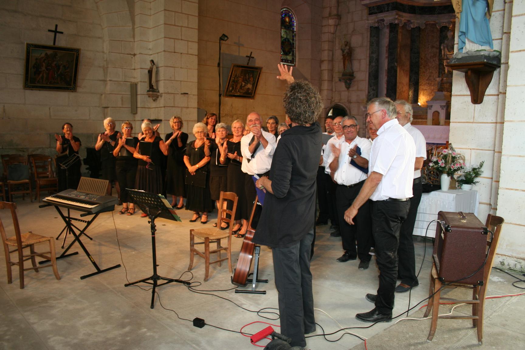 Chorale de la Bachellerie et Vox Vesunna