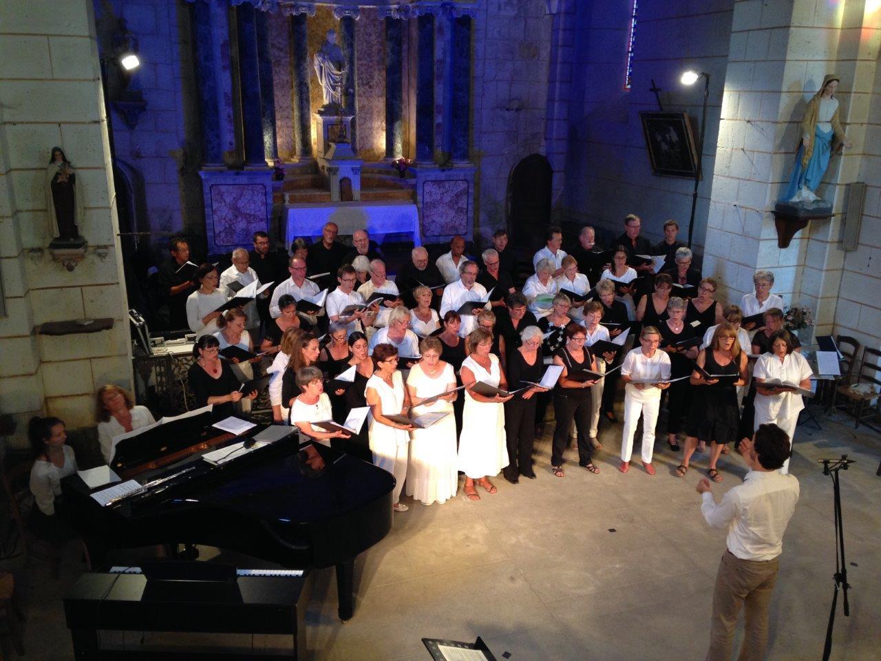 Chorale des dames de choeurs, Vox Vesunna & atelier B. Fau