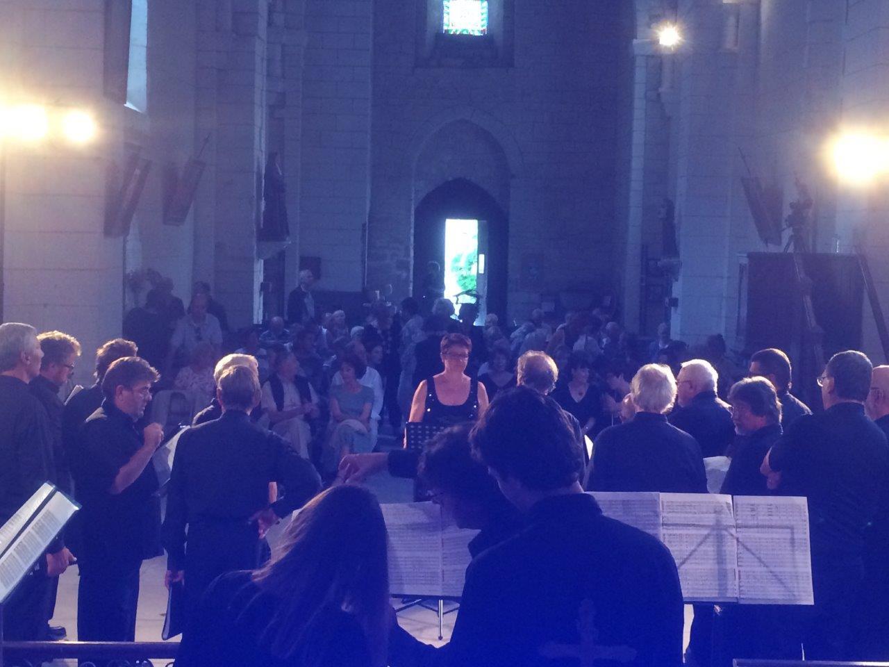 Public de la semaine musicale de Tourtoirac