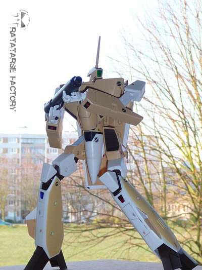 """1/60 VF-1A Mass Production """"Real Color"""" Custom - Ratatarse Factory"""