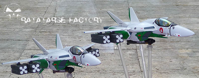 "2x 1/60 VF-1A U.N. Guard ""Alaska Base"" - Ratatarse Factory"