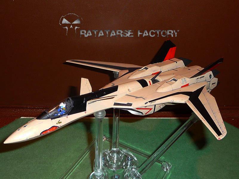 Hasegawa YF-19 1/72 Rebuild for a forum member