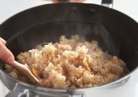 炊き込みご飯モード(コンロ自動炊飯機能)搭載