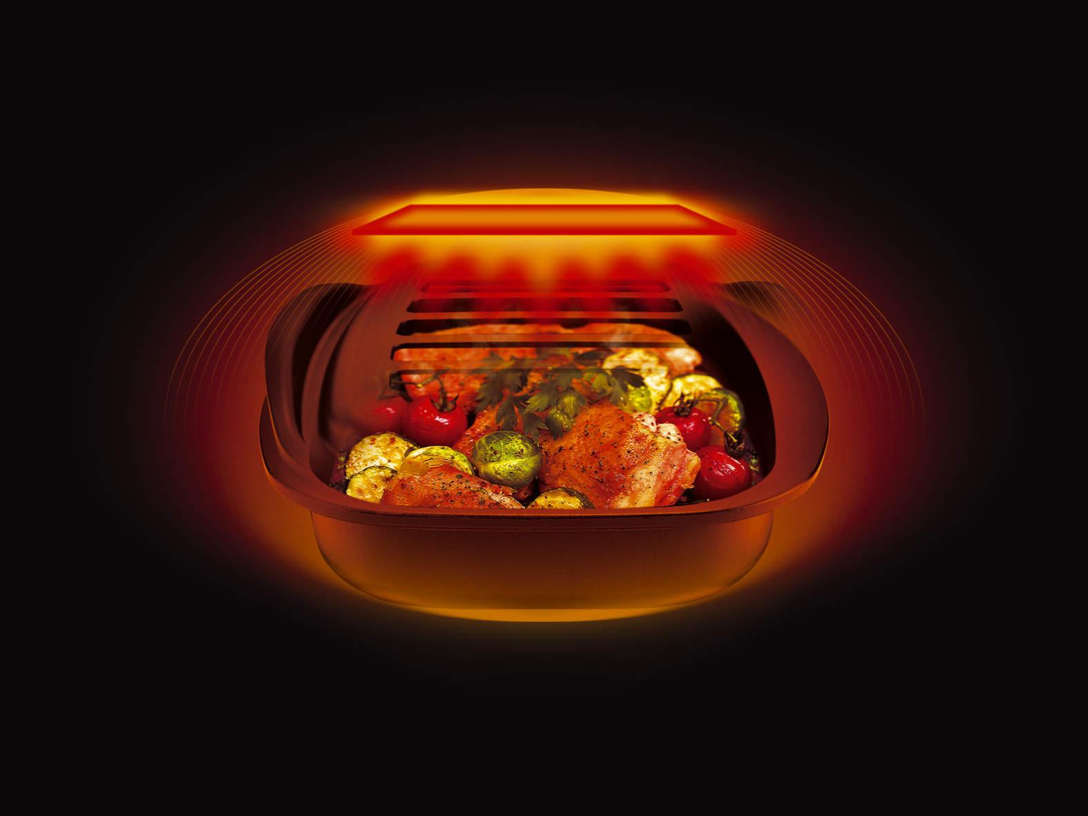 ココットの調理中イメージです