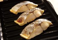 波型プレートパン調理例:焼魚切り身