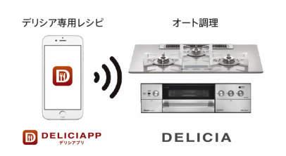 アプリダウンロードでオートメニュー調理のバリエーション豊かに!