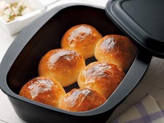 パンもふっくら仕上がります