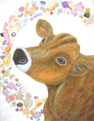 牛の日本画