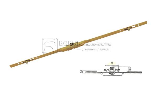 BR.811 Espagnolette UPVC Window Lock for Inward Opening