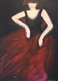 OT, Acryl auf Leinwand, 100 x 70 cm, Preis auf Anfrage