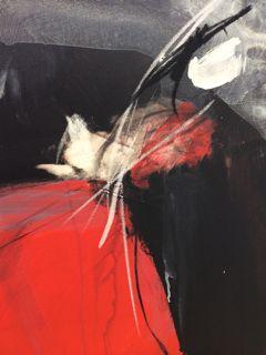 OT, Acryl auf Leinen, 70 x 50cm, Preis auf Anfrage