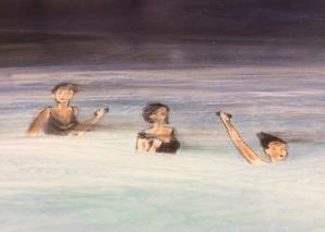 OT, Acryl auf Leinwand, 70 x 100 cm, Preis auf Anfrage