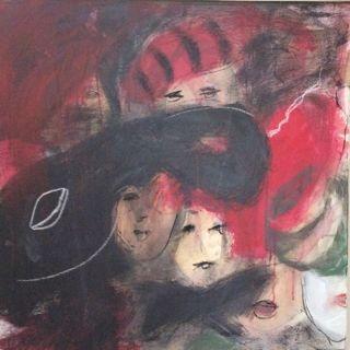 OT, Acryl auf Leinwand, 70 x 50 cm, Preis auf Anfrage