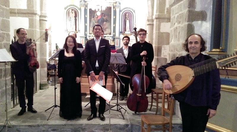 L'Ensemble MAGNETIS avec Sébastien BOUVEYRON, Misora Lee soprano et Blaise RANTOANINA tenor