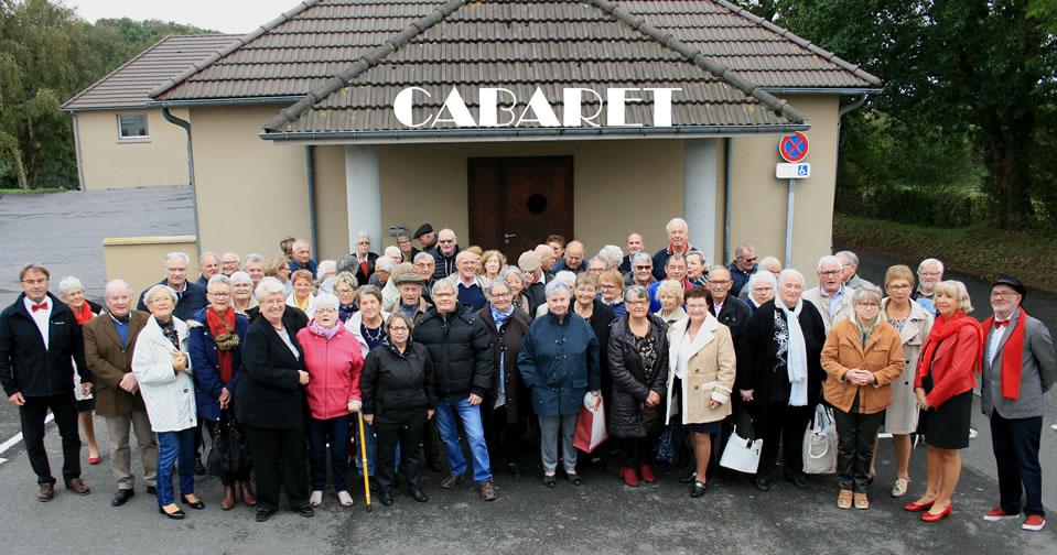 Photo - Repas des séniors 2019 - Bréville-sur-Mer - Thème : Cabaret