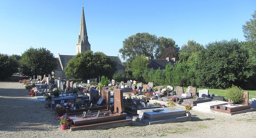 Photo du cimetière de Bréville-sur-Mer