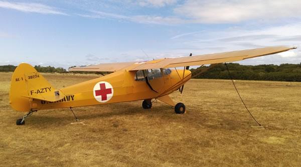 Piper opération Cobra - Aérodrome Bréville-sur-Mer