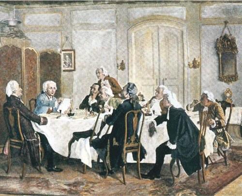 Kant und seine Tischgenossen