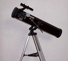 Teleskop nach Newton
