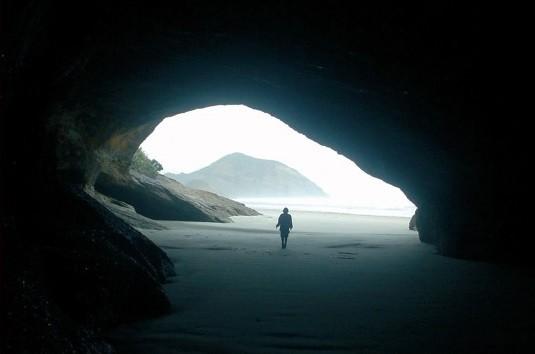 Höhlenausgang