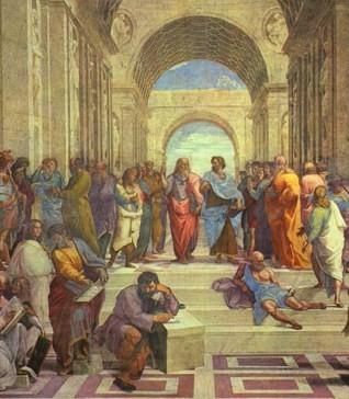 Raffael, Schule von Athen