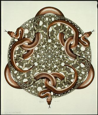 M.C. Escher, Snakes