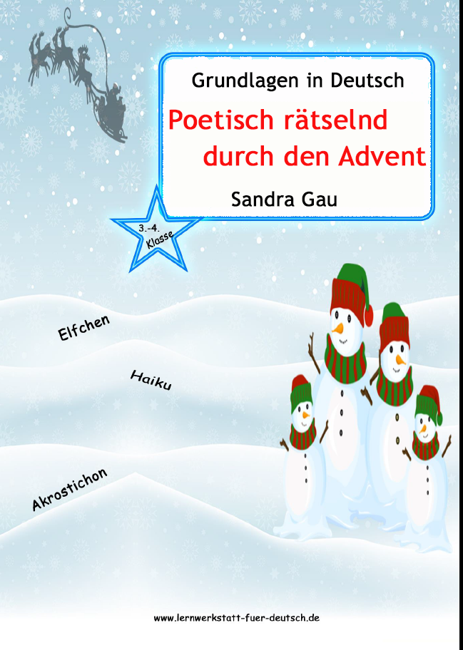 Haiku Zu Weihnachten Lernwerkstatt Für Deutsch