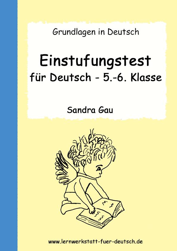 Einstufungstest Für Deutsch 7 8 Klasse
