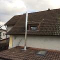 Edelstahlschornstein in Bischofsheim bei Mainz