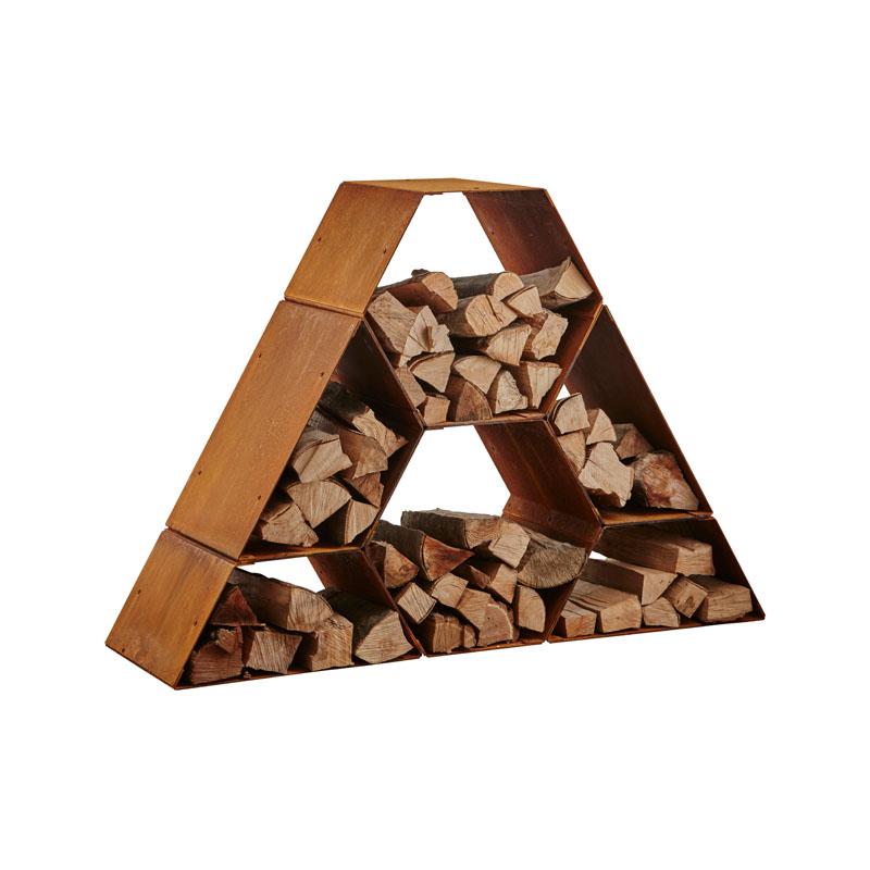 Heta Holzlager Holzregal - so lagern sie ihr Brennholz richtig und schick