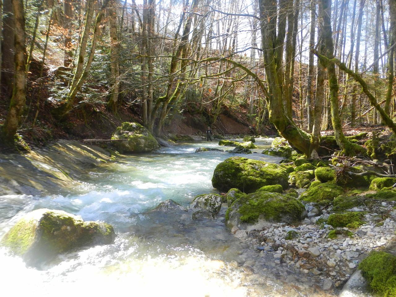 rivière ou je pratique les initiation toc