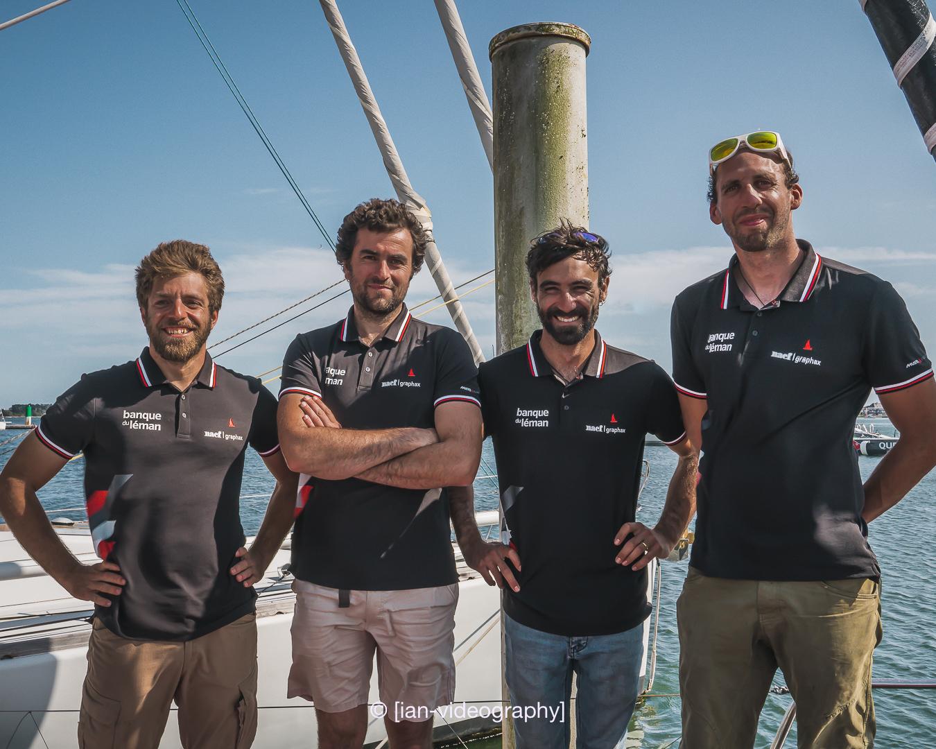 La Roesti Sailing Team met le cap sur la mythique Fastnet Race // Roesti Sailing Team nimmt Kurs auf prestigeträchtiges Fastnet Race