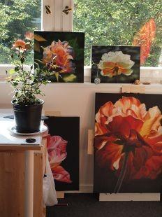 Blick ins Atelier, Viola Francke