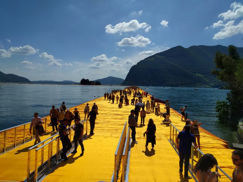 The Floating Piers - Lago d' Iseo