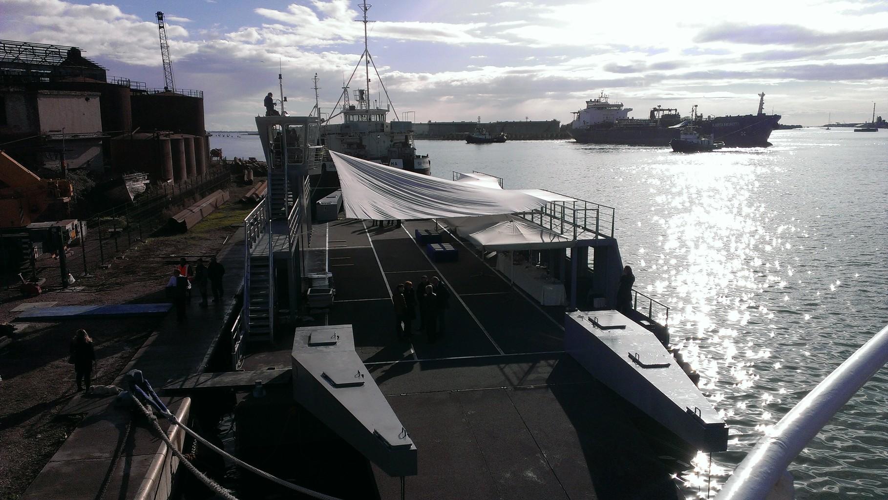 Ghana Project: Ferry Boat modulari