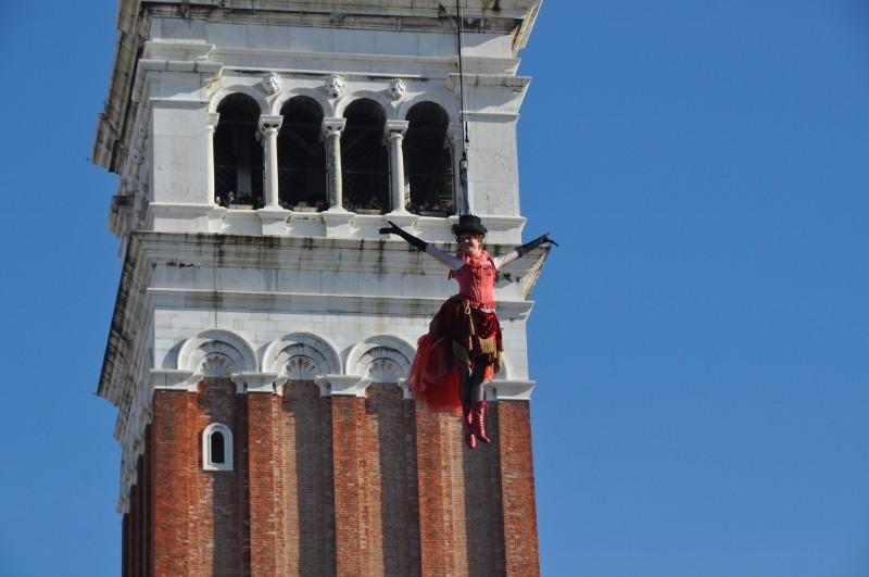 Carnevale di Venezia - Il volo dell'angelo