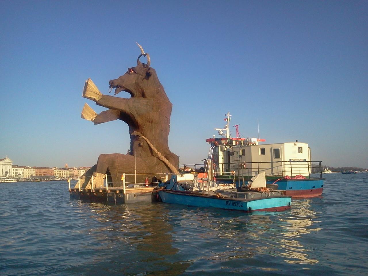 Carnevale di Venezia - Il Toro Marciano