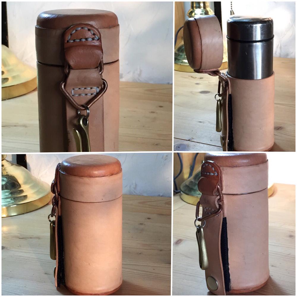 水筒レザーケース   ボトルホルダー