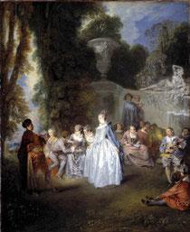 Antoine Watteau, Fêtes vénitiennes, 1718-1719