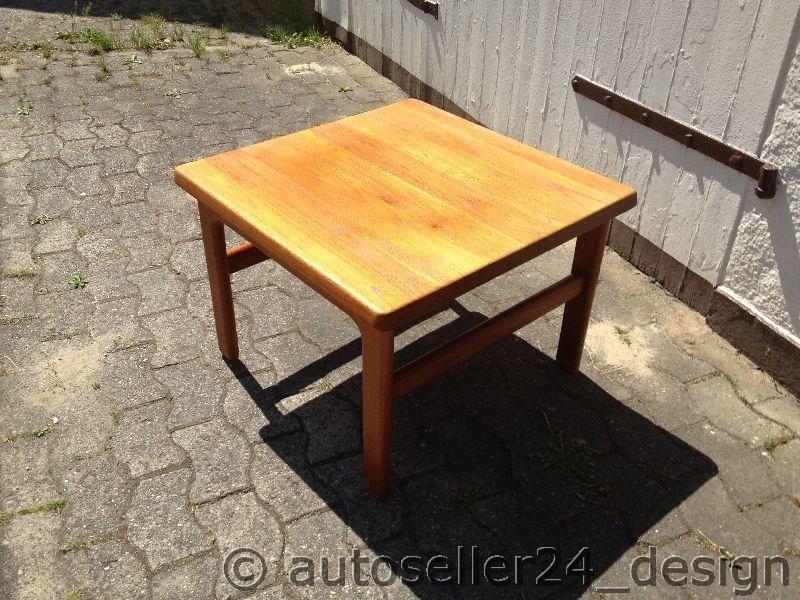 Coffee table 50er60er70er for Tisch design danemark