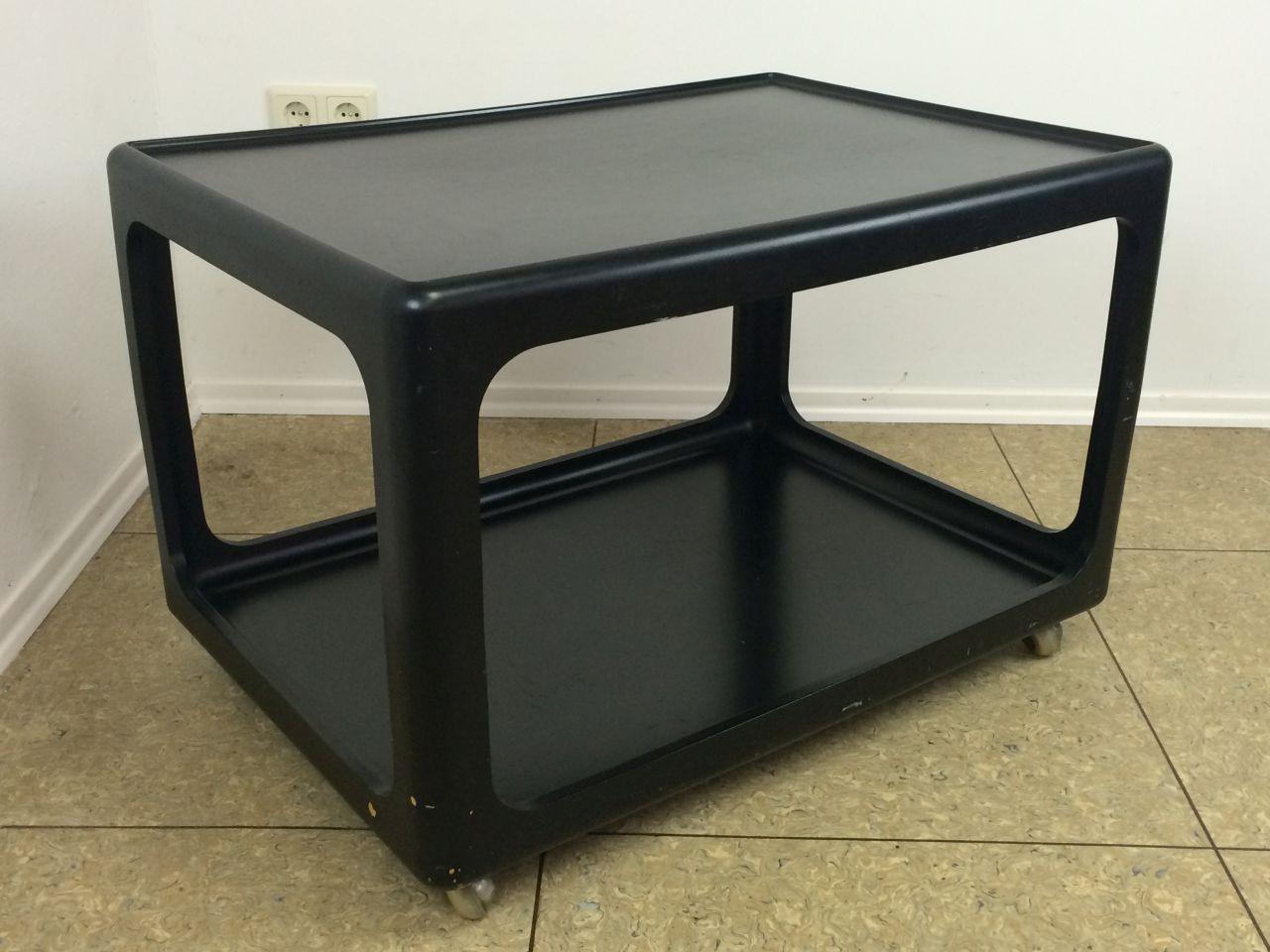 Beistelltische 50er60er70er for Design tisch 70er
