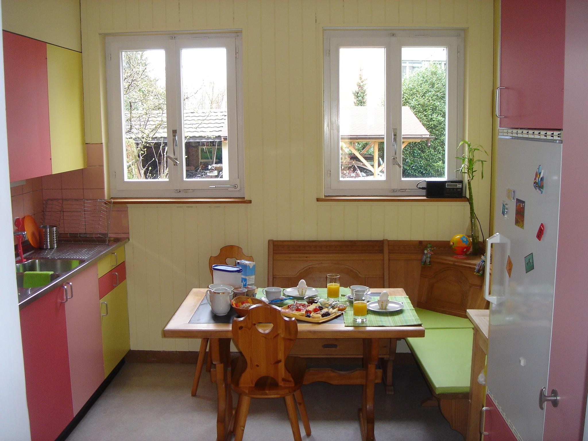 Komplett eingerichtete Küche für Selbstversorger