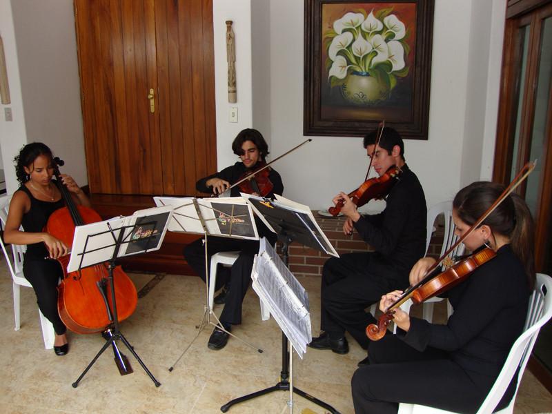 Cuarteto en Caracas