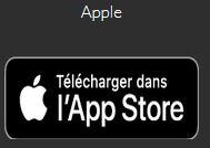 Télécharger les applis pour appareils apple