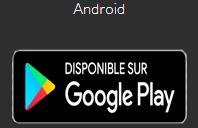 Télécharger les applis pour appareils android
