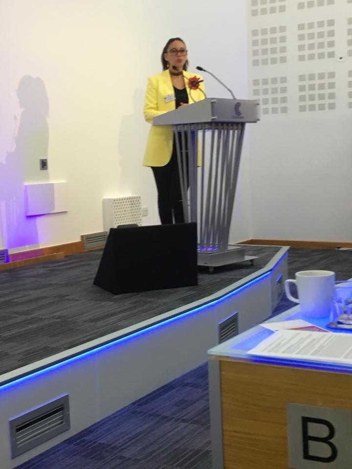 Dr Simona Vlădică at EAPAP 2018