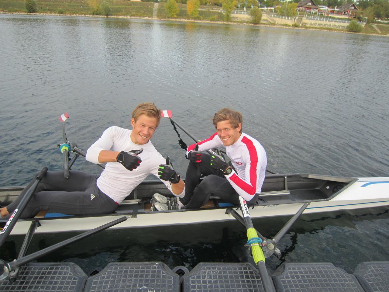 Bernhard und Paul Sieber, Olympia-Teilnehmer und U23-Weltmeister