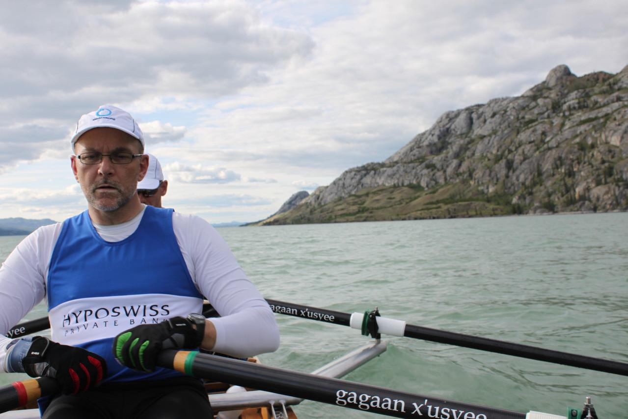 Michael Bögle beim Yukon River Quest